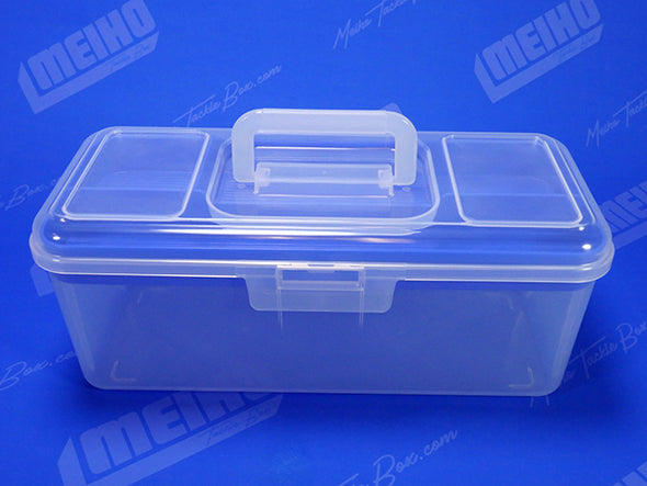 Plastic Case With Secure Closing Latch and Handle