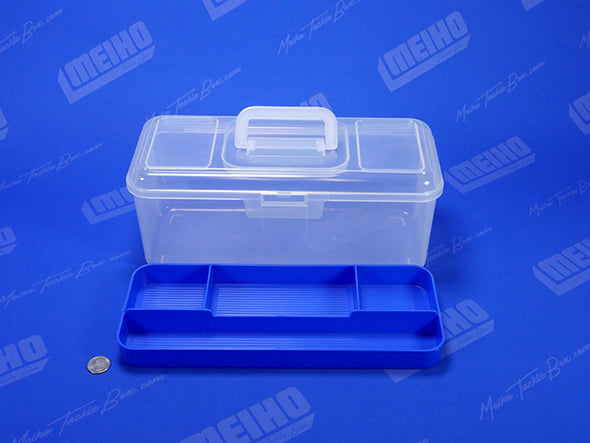 Tackle Box With Removable Inner Tray