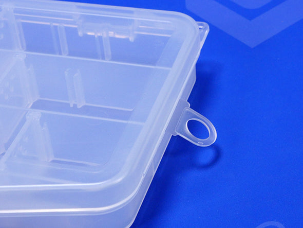 Removable Hang Tab On Plastic Box