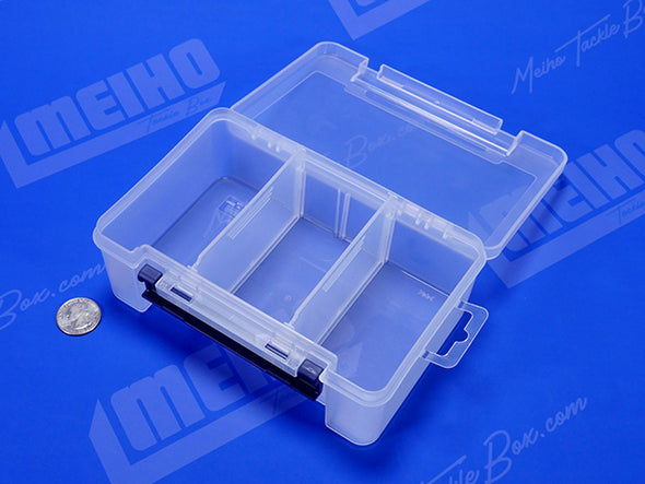 Square Plastic Container With 3 Compartments