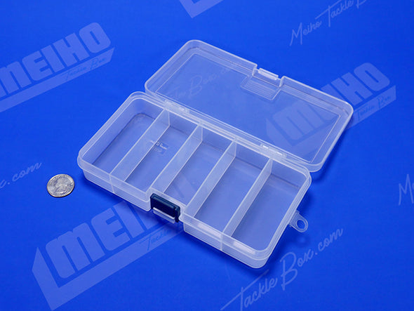Square Plastic Container With 5 Compartments