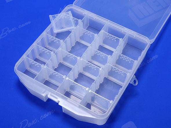 16 Removable Dividers In Familia Plastic Case