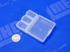 Pocket Sized Plastic Compartment Container