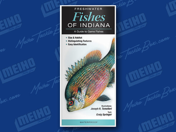 Informational Pamphlet Of All Freshwater Fishes Caught In Indiana