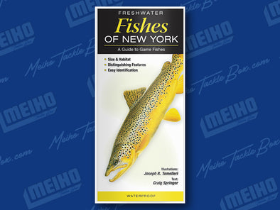 Informational Reference Guide Of All Freshwater Fishes Caught In New York