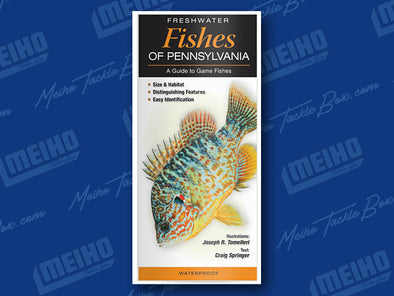 Informational Reference Guide Of All Fresh Water Fishes Caught In Pennsylvania