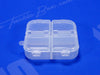 Snap Lid Closure On All 4 Compartments