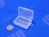 Mini Square Plastic Container With Lid