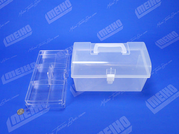 Translucent Plastic Tackle Storage Case