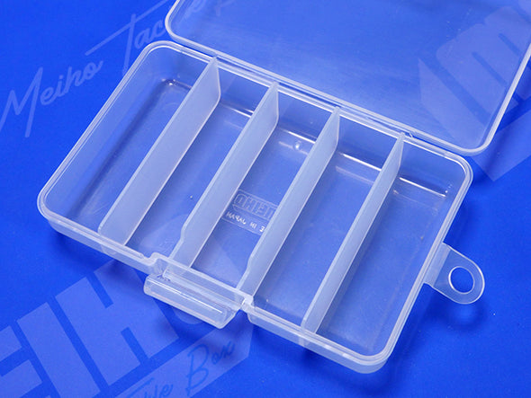 5 Compartment Plastic Case