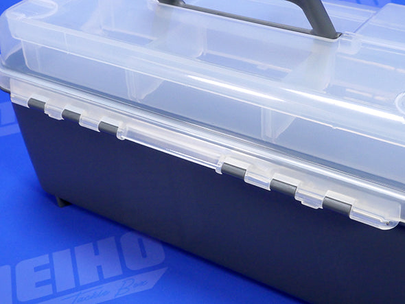 Plastic Hinges Attach Lid To Box