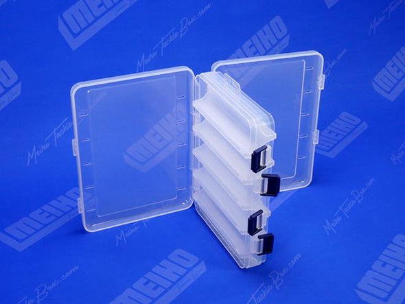 Two Hinged Lids On Reversible 145 Plastic Case
