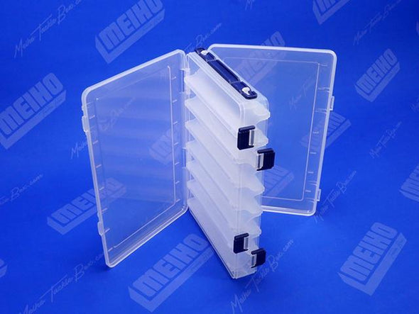 Two Hinged Lids On Reversible 165 Plastic Case