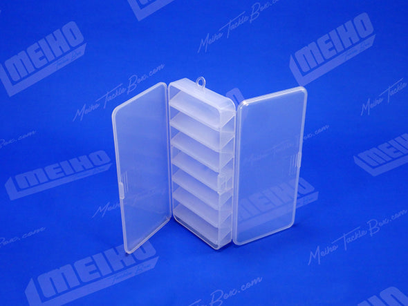 Two Hinged Lids On Reversible 85 Plastic Case