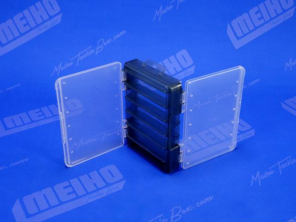 Two Hinged Lids On Reversible D86 Plastic Case