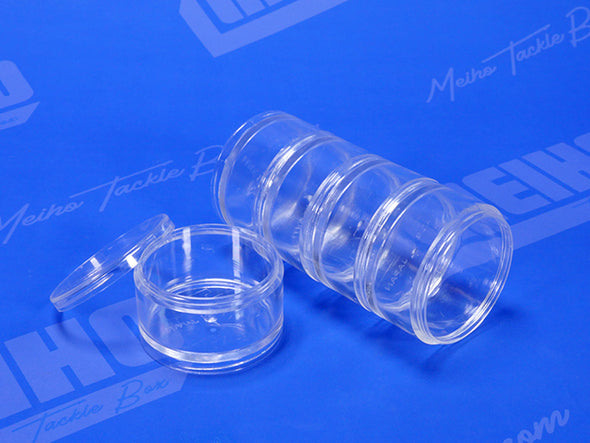 Plastic Stacking Container With Removable Lid