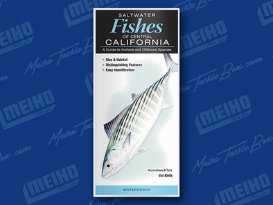 Informational Reference Guide Of All Salt Water Fishes Caught In Central California