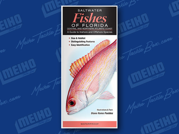 Informational Pamphlet Of All Salt Water Fishes Caught In Florida's Central and North Atlantic Coast