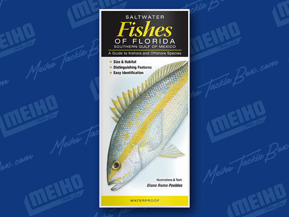 Informational Pamphlet Of All Salt Water Fishes Caught In the Florida Southern Gulf Of Mexico