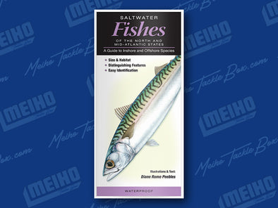 Informational Reference Guide Of All Salt Water Fishes Caught In The North and Mid-Atlantic States