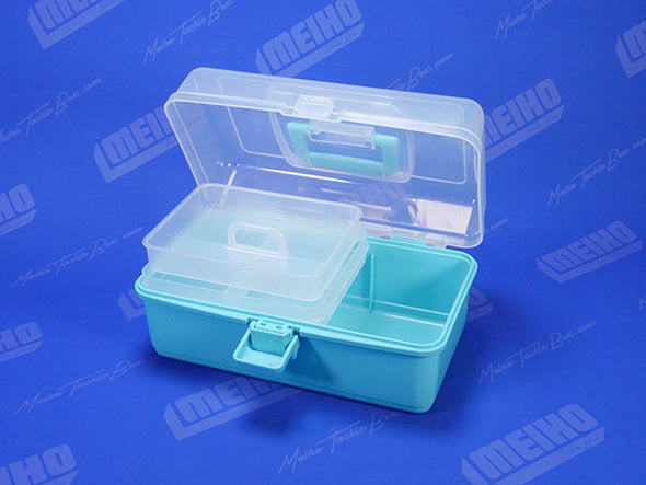 Hinged Lid Plastic Meiho Tackle Box