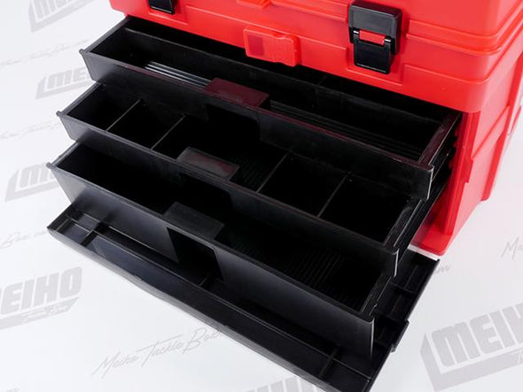 3 Pull Put Drawers With Multiple Storage Compartments Per Drawer