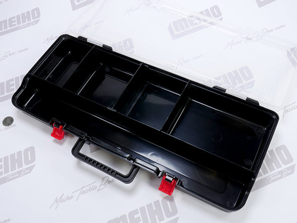 Five Compartments Inside Case For Tools Or Fishing Supplies