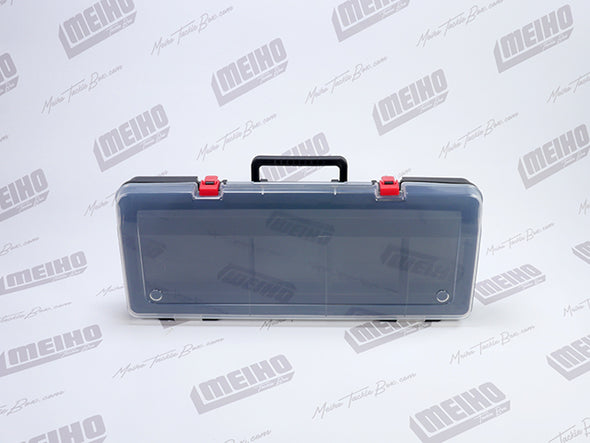 Plastic Brief Case Style Container With Handle