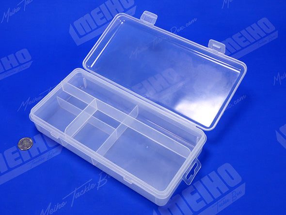 Hinged Lid Plastic Compartment Case