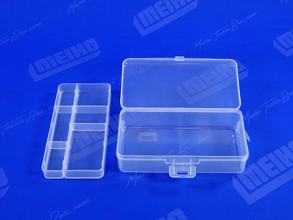 Case With Removable Plastic Compartment Tray