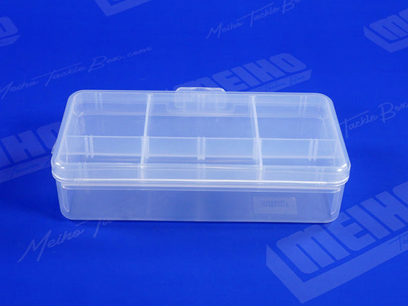 Sturdy Plastic Hinged Keep Fishing Case Lid Attached