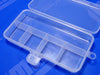 Five Non-Movable Compartments Inside Plastic Box