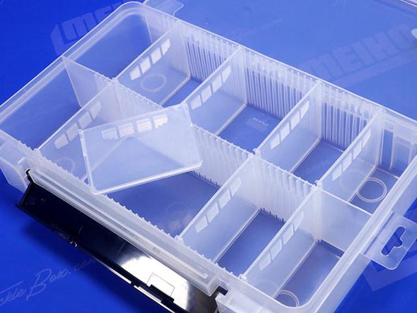 8 Removable Plastic Dividers For Varying Compartment Sizes