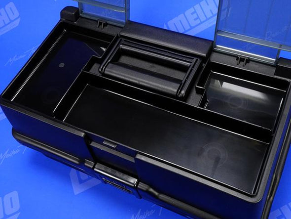 3 Bonus Compartments Inside Tackle Box Lid
