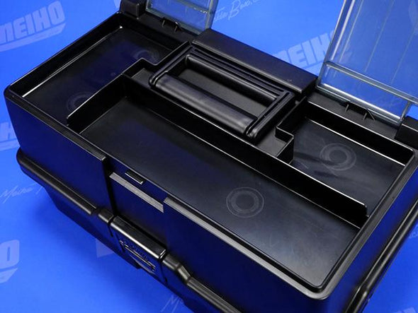 Top Quick Access Section Inside Tackle Box Lid