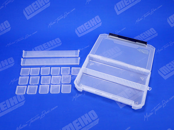 18 Removable Plastic Dividers For Varying Compartment Sizes