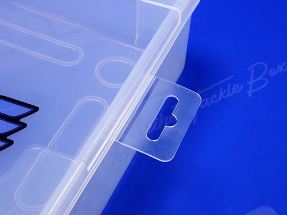Removable Plastic Hang Tab For Point of Purchase Sale