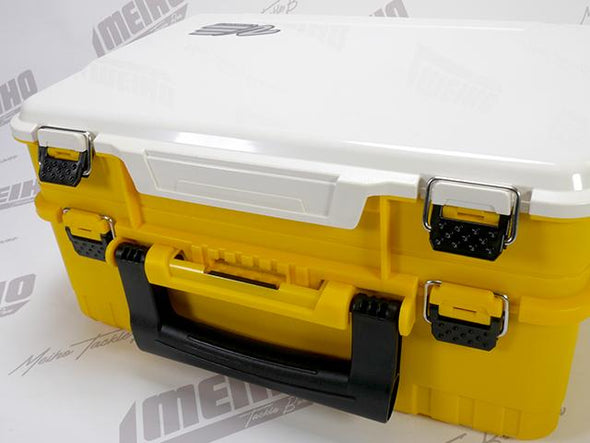 Secure Latches Keep Both Lids Closed During Transport