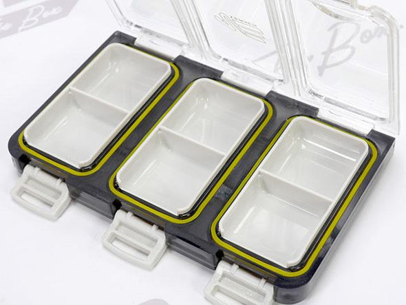 Small Compartments For Fishing Weights, Hooks and Tackle