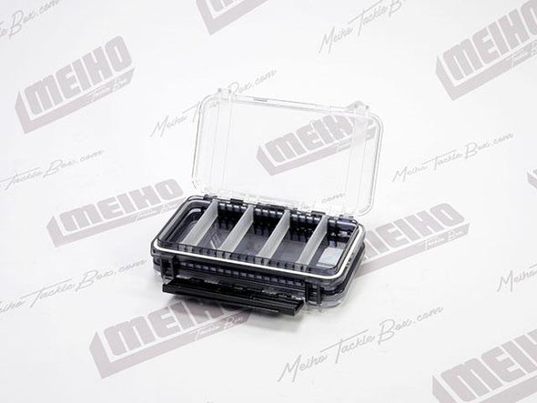 Hinged Lid Plastic Fishing Tackle Storage Case