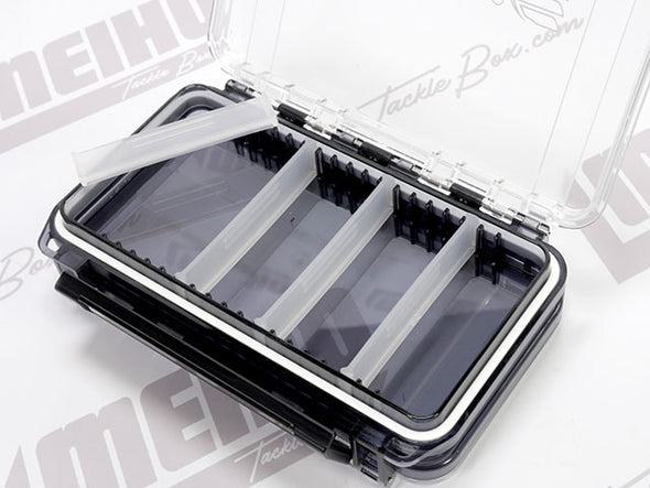 4 Removable Plastic Dividers On Each Side Of Case (8 Total)