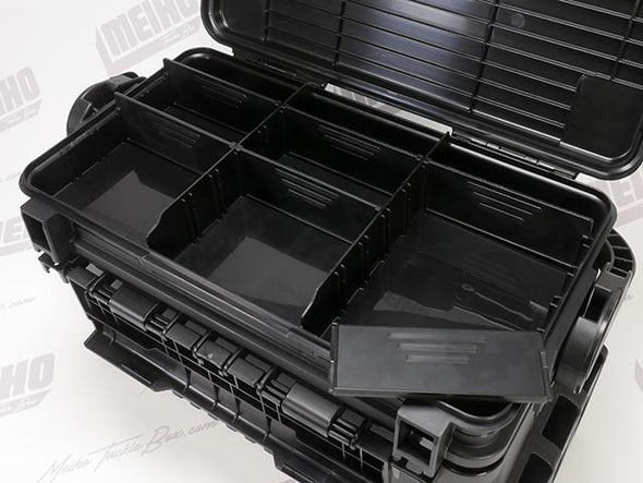 6 Removable Dividers Inside Quick Access Section Inside Lid