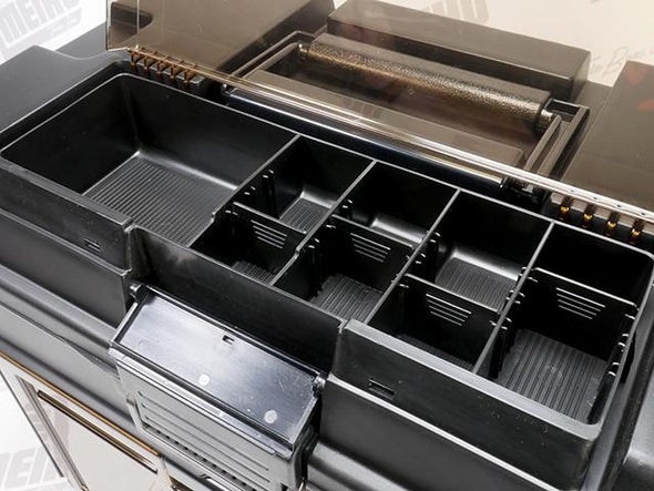 Quick Grab Storage Section Inside Tackle Box Lid