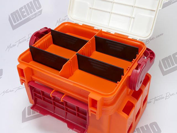 4 Removable Dividers Inside Quick Access Section Inside Lid