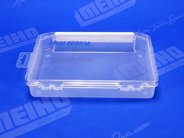 Sturdy Plastic Hinges Keep Tackle Box Lid Attached