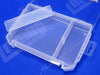 2 Removable Plastic Dividers Make 3 Possible Compartments