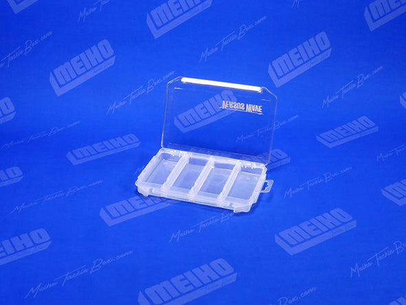 Hinged Lid Plastic Fishing Tackle Case