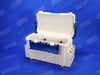 Hinged Lid Plastic Fishing Tackle Box
