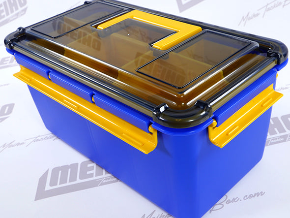Three Latch Closure System On Water Guard Tackle Case