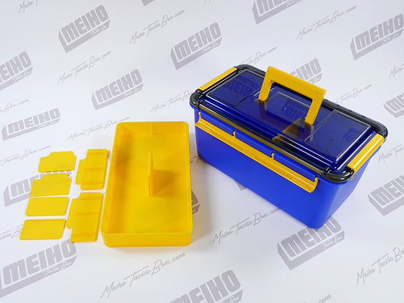 Removable Plastic Compartment Tray Included In Tackle Box